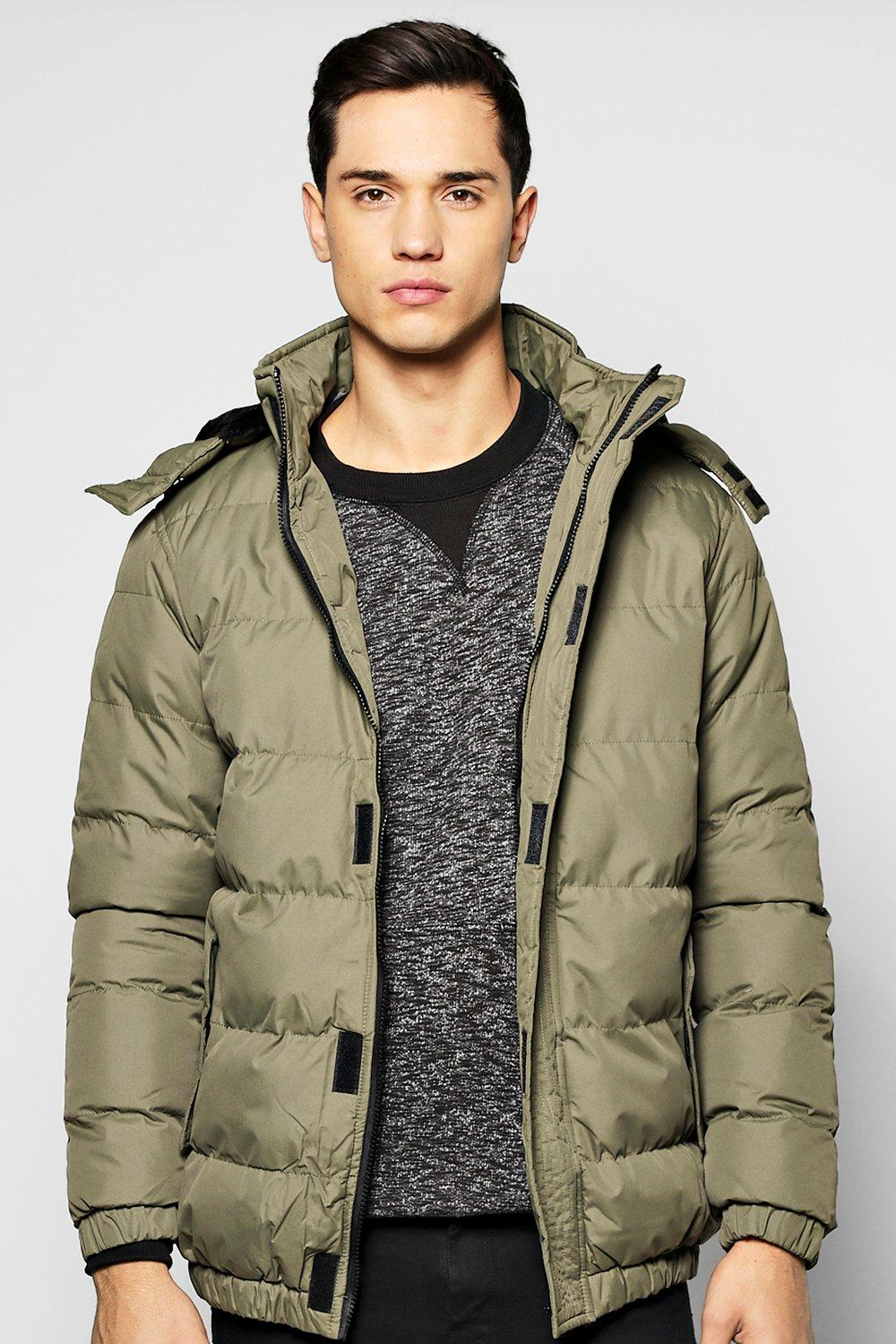 Quilted Parka Jacket