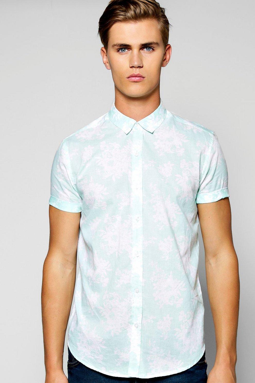 cd8344fc Mens Short Sleeve Hawaiian Shirt. Hover to zoom