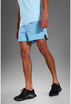 Pastel blue Tall Man Active Running Shorts