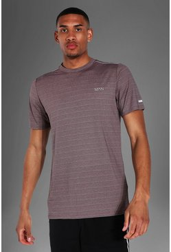 Charcoal Tall Man Active Textured T-shirt