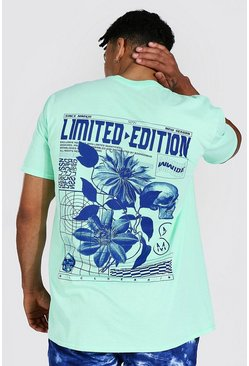 Mint Oversized Limited Edition Graphic T-shirt