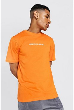 Orange Man Official Crew Neck T-shirt